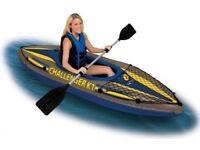 X2 Intex Single Kayaks