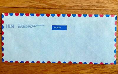 Vintage IBM International Mail Envelope ~ IBM World Trade Americas/Far East Corp