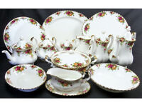 Wanted - Royal Albert large china dinner, tea, coffee set