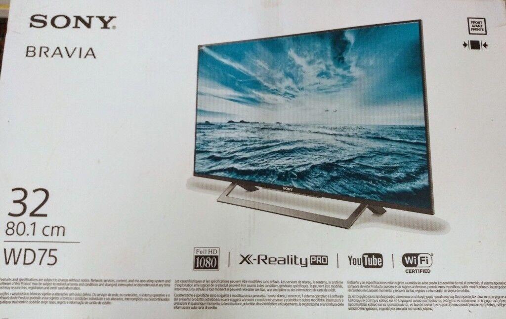 90ec4e0eb47 New Smart TV SONY Bravia 32 inch