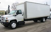 2006 GMC Topkick duramax diesel with 24 ft box