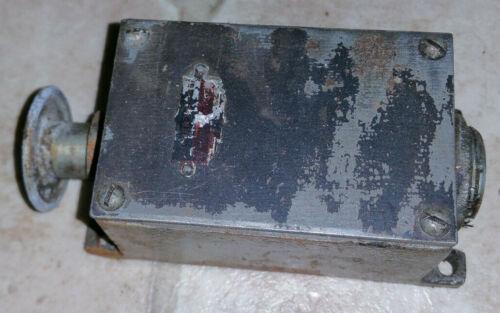 Vintage Cutler-Hammer Motor Control Switch button box 49-1619-1