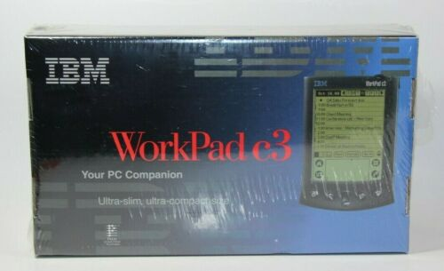Vintage New Old Stock IBM Workpad C3 PC Companion Computer Palm Computing