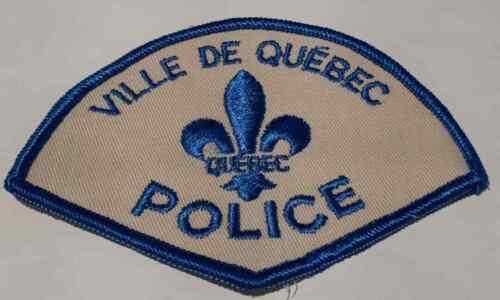 Québec City Quebec Police Patch BNQ #2