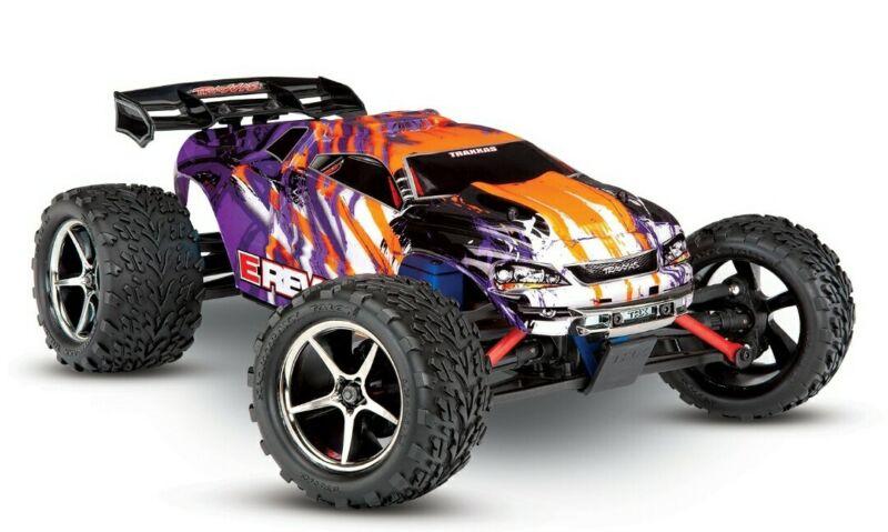 Purple Traxxas 1/16 E Revo RTR