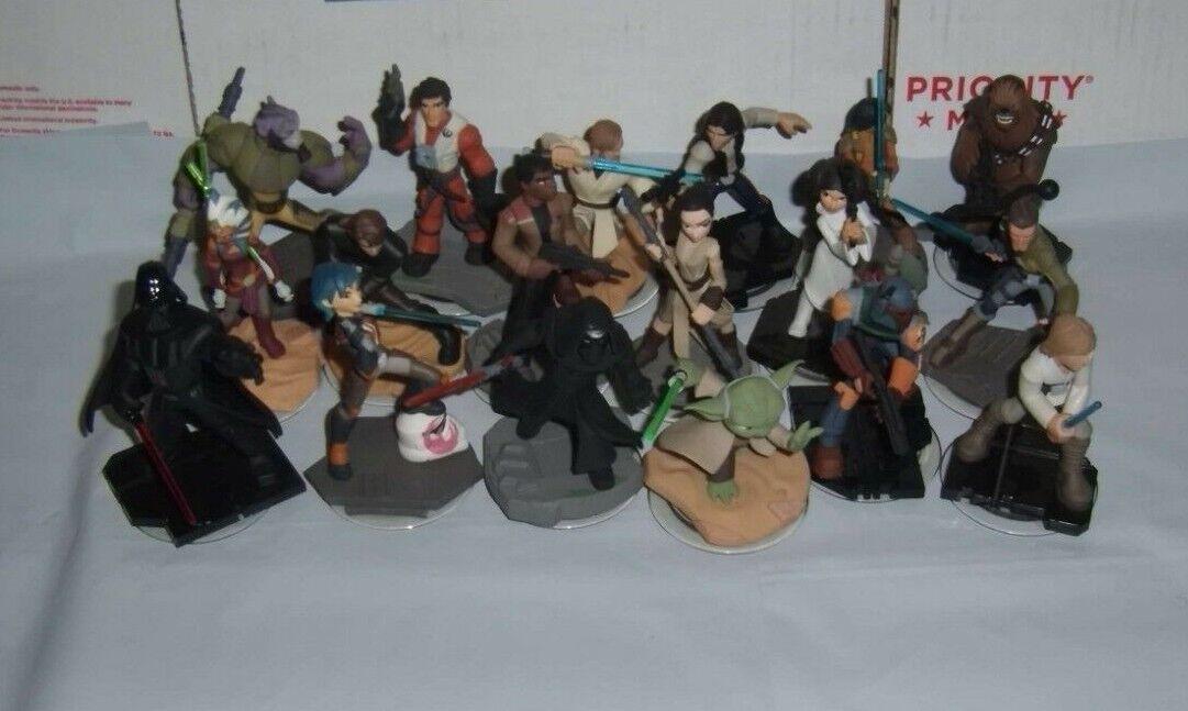 Disney Infinity 3.0 Figures Character Marvel Star Wars Originals Lot Set Buy4G1F