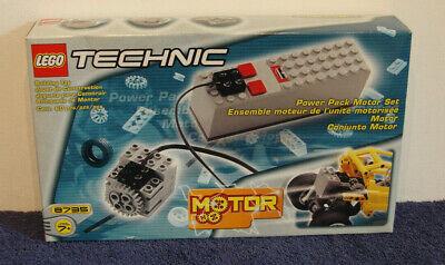 LEGO Technic Power Pack Motor Set, 9V (8735) New Sealed 🔋🔋