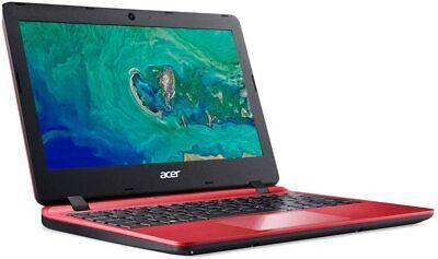 """Acer Aspire 1 NX.GX9EK.006 11.6"""" Laptop Celeron N4000 2GB RAM 32GB eMMC Red"""
