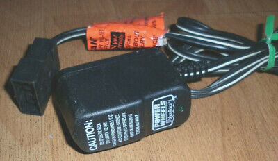 Fisher-Price Power Wheels 6 Volt Charger model 00801-1483 - see notes