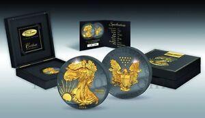 Golden Enigma American Eagle 30th Anniversary Liberty Prestige Edition 2016 $1 - Kraków, Polska - Golden Enigma American Eagle 30th Anniversary Liberty Prestige Edition 2016 $1 - Kraków, Polska