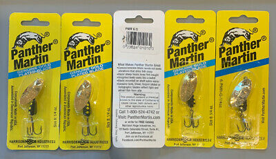 Panther Martin 6PMRF-CYBR Copper Yellow Brown Fishing Lure ***New***
