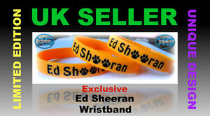 1-Ed-Sheeran-Inspired-Orange-Silicone-Wristband-Bracelet-Band