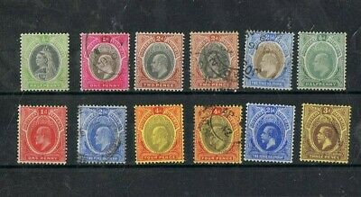 SOUTHERN NIGERIA - Lot of old stamps