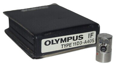 Olympus Industrial Fiberscope If 11d3-a40s If Optical Tip Adapter