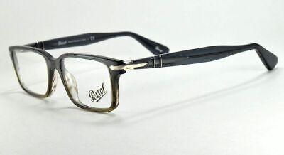 PERSOL Eyeglasses 2965 vm 1012  Gray Rectangular Frame 55 mm (Persol Spectacles)