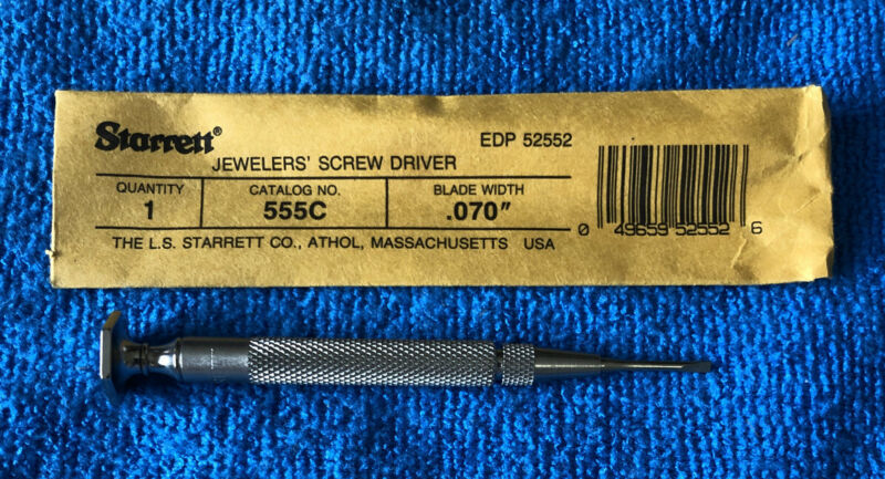 NEW~~Starrett 555C Jewelers