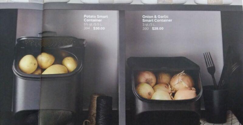 Tupperware Potato 🥔 Smart Container & Onion🧅 & Garlic🧄 Samart  Container set