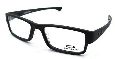 Oakley Rx Eyeglasses Frames OX8046-0157 57-18-143 Airdrop Satin Black