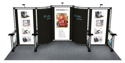 10 X 20 Trade Show Booth Exhibit Stand Truss Crosswire 10x20