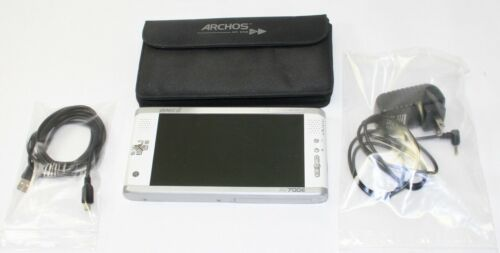Archos AV700E Portable Media Recorder + Carrying Case + Charger + USB /For Parts