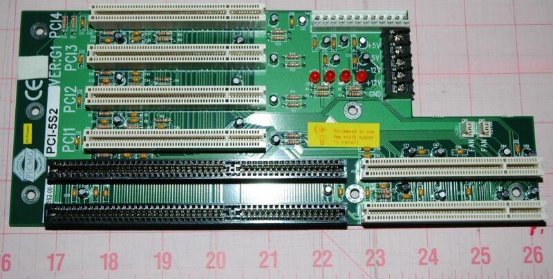 IEI PICMG Passive Backplane 3 PCI, 2 PICMG PCI-5S2 verG1, Single Side 5 Slot
