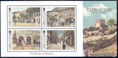 Gibraltar - 2009 s/s - Old views of Gibraltar #1210 cv $ 6.25 Lot # 851