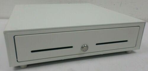 "Star Micronics White Cash Drawer 37965590 16.5"" x 16"" 5 Bill / 8 Coin NO KEYS"