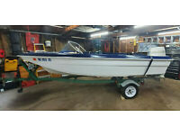 1967 MFG Runabout Evinrude Outboard Trailer Milwaukee, WI   No Fees & No Reserve