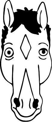 Bojack Horseman Vinyl Decal Netflix Cartoon Will Arnett Sticker Hollywoo