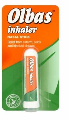 Olbas Nasal Inhaler Stick Flu Cold Hay Fever Plant Oil Therapy Stuffy Nose