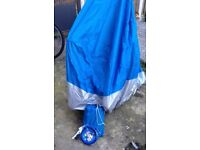 NEW MOTORBIKE COVER WITH LOCKING CHAIN AND BAG SIZE 2