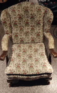 Antique padded arm chair $75 OBO