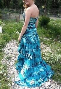 Beautiful Open-Front Grad Dress