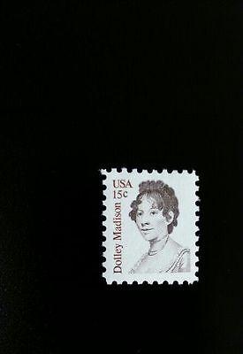 1980 15C Dolley Payne Todd Madison  James Madison Scott 1822 Mint F Vf Nh