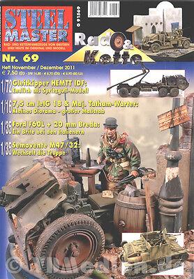 STEELMASTER 83 Sd.Kfz 231 schwerer Panzerspähwagen//M1A1 Abrams//Centurion NEU