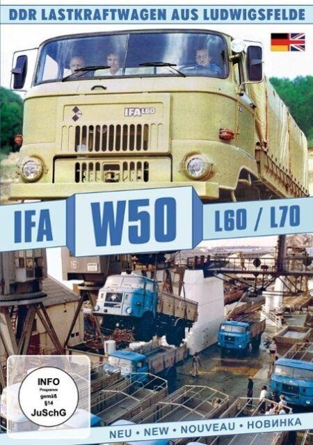 IFA W50 L60/L70 - DDR Lastkraftwagen aus Ludwigsfelde, 1 DVD DVD
