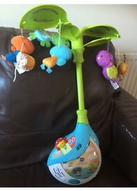 Vetch musical cot mobile