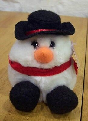 Puffkins Flurry The Snowman 4 Plush Stuffed Animal