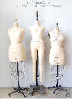 WANT TO BUY: VINTAGE MANNEQUIN / DRESS FORMS