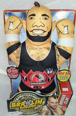 "New The Brodus Clay WWE Brawlin' Buddies Figure Talks 17"""