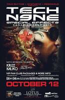 ==>| TECH N9NE | feat KRIZZ KALIKO | Live In *RED DEER* | <==