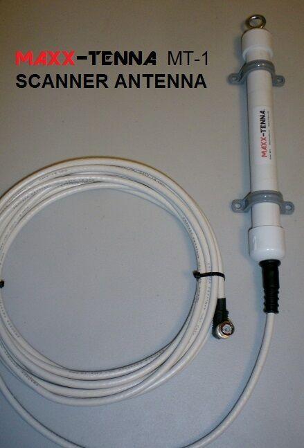 MAXX-TENNA in/outdoor Police, Fire, EMS, Air, Marine Scanner Antenna & 20
