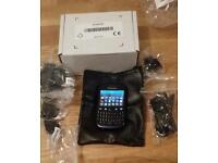 blackberry 9320 blue unlocked with charger system