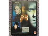 Like New 24 Season 4 DVD Collection.