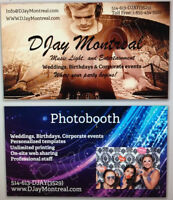 Photobooth 375$/3hrs with DJayMontreal.com