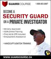 SECURITY GUARDS - ASAP! - NOW HIRING!