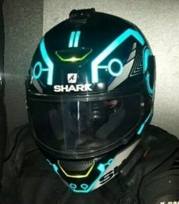 HELMET TRON STYLE REFLECTIVE STICKERS BE SEEN AT NIGHT BEST BLACK FRIDAY DEAL