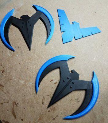 Nightwing Wingdings (3d Printed) - Nightwing Costume
