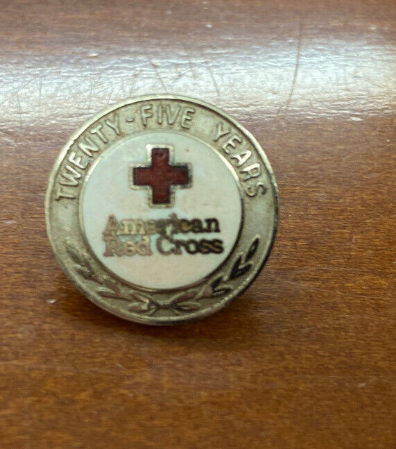 American Red Cross 25 Years Service Lapel Pin