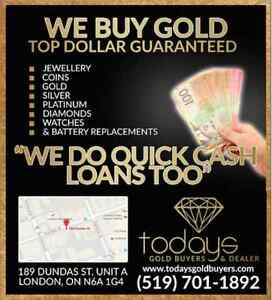 CASH 4 GOLD- Highest price in town Guaranteed London Ontario image 2